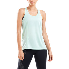 2XU GHST Singlet Shirt Women, mint/white reflective